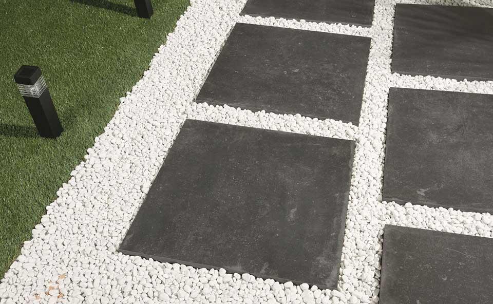 Tegelhuis Twenthe: Keramische terrastegels van Ceramiche Castelvetro