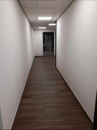 Vloeren appartementencomplex