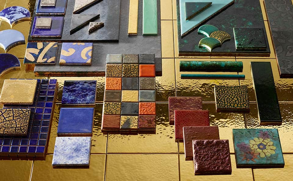 Tegelhuys Twenthe: Mozaïktegels van Peccihioli ceramica dei chini